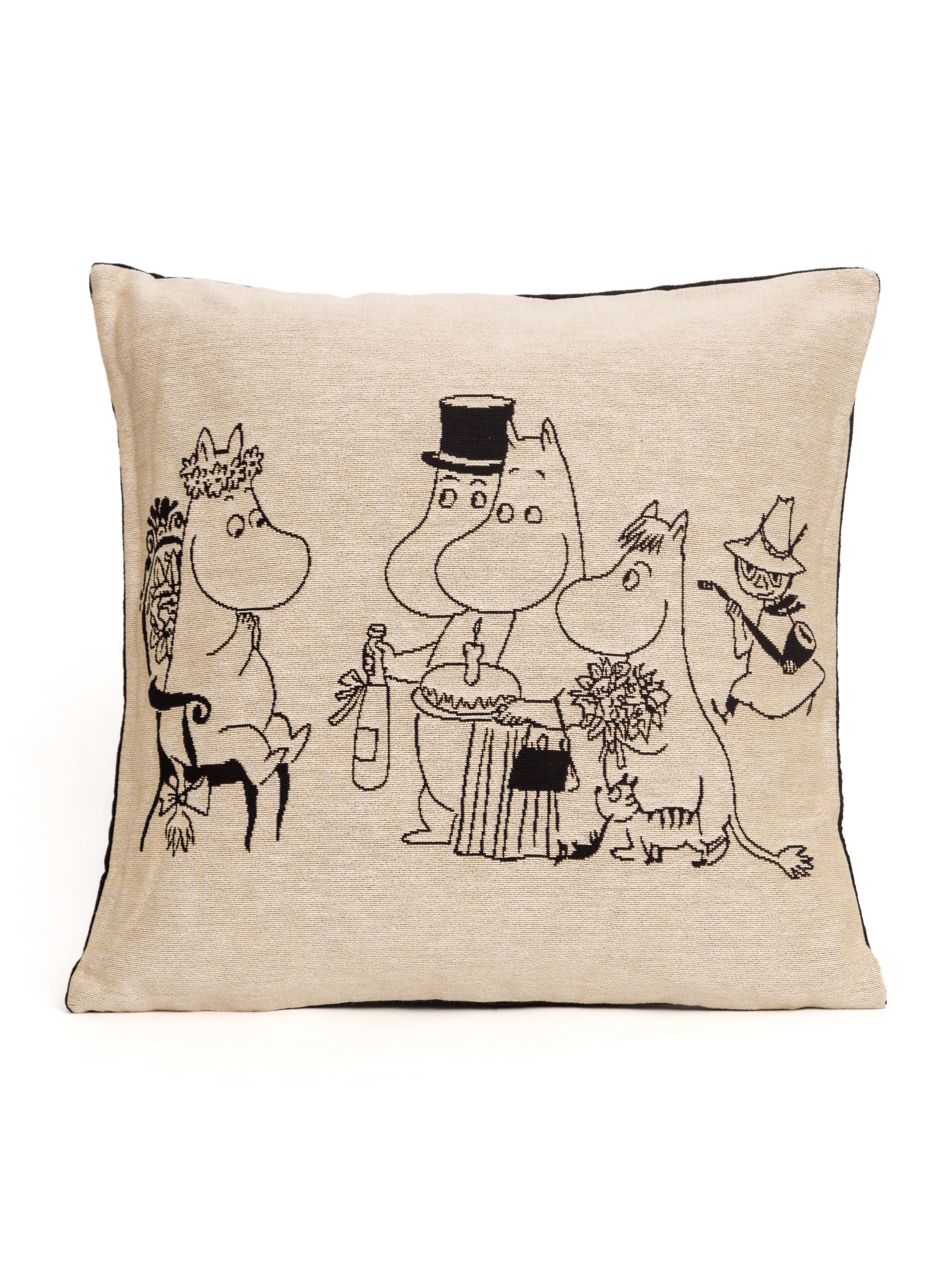 Aurora Decorari Moomin Gobelin Cushion Cover Fest 002CH