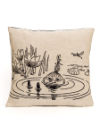 Aurora Decorari Moomin Gobelin Cushion Cover My in Pond 004CH