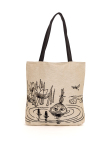 Aurora Decorari Moomin Gobelin Big Bag My in Pond 005BB