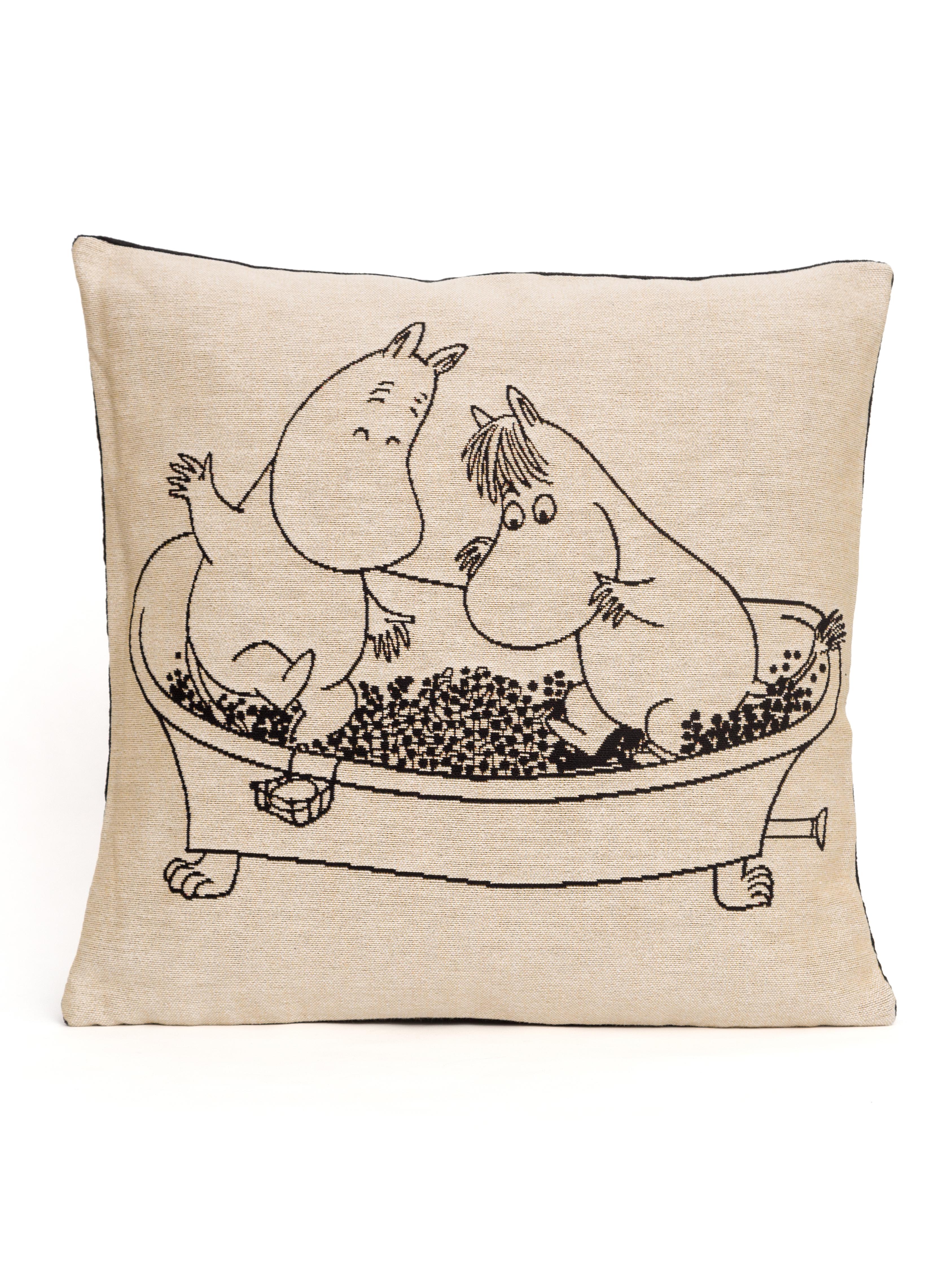 Aurora Decorari Moomin Gobelin Cushion Cover Bathtub 006CH