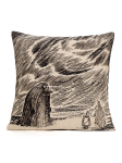 Aurora Decorari Moomin Gobelin Cushion Cover The Groke 010CH