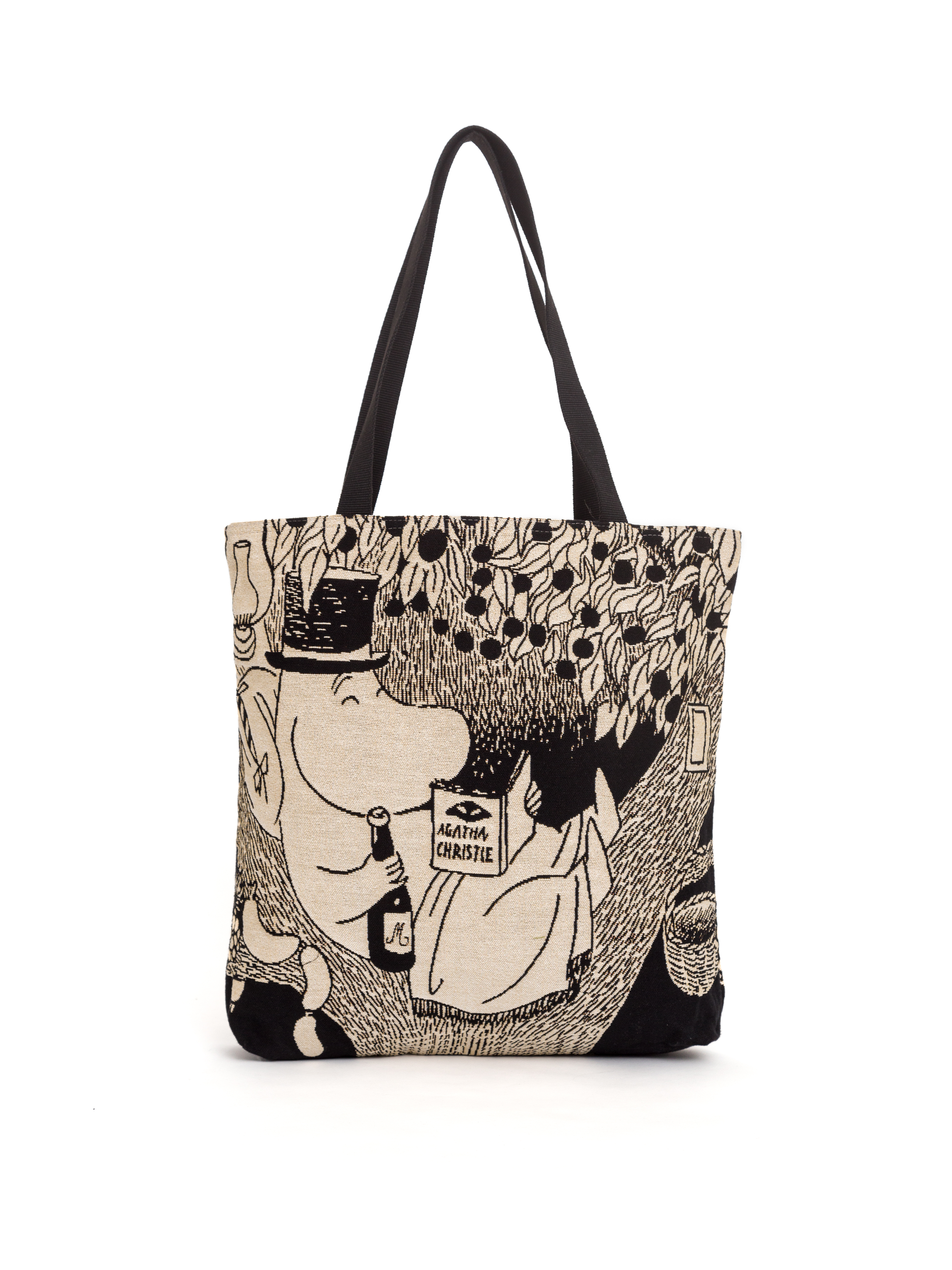 Aurora Decorari Moomin Gobelin Big Bag Pappa Reading 013BB