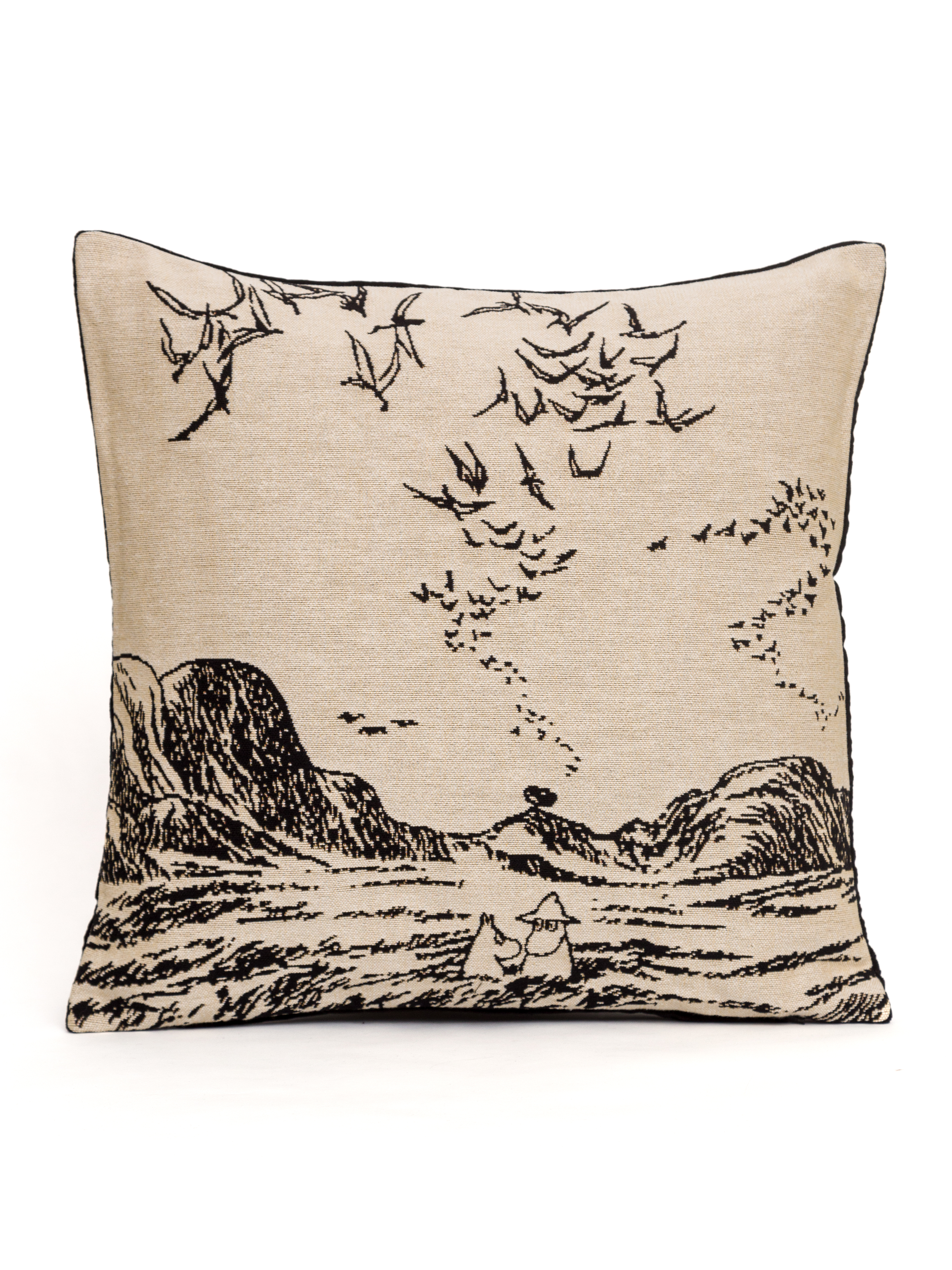 Aurora Decorari Moomin Gobelin Cushion Cover 014CHMoomins in Sea