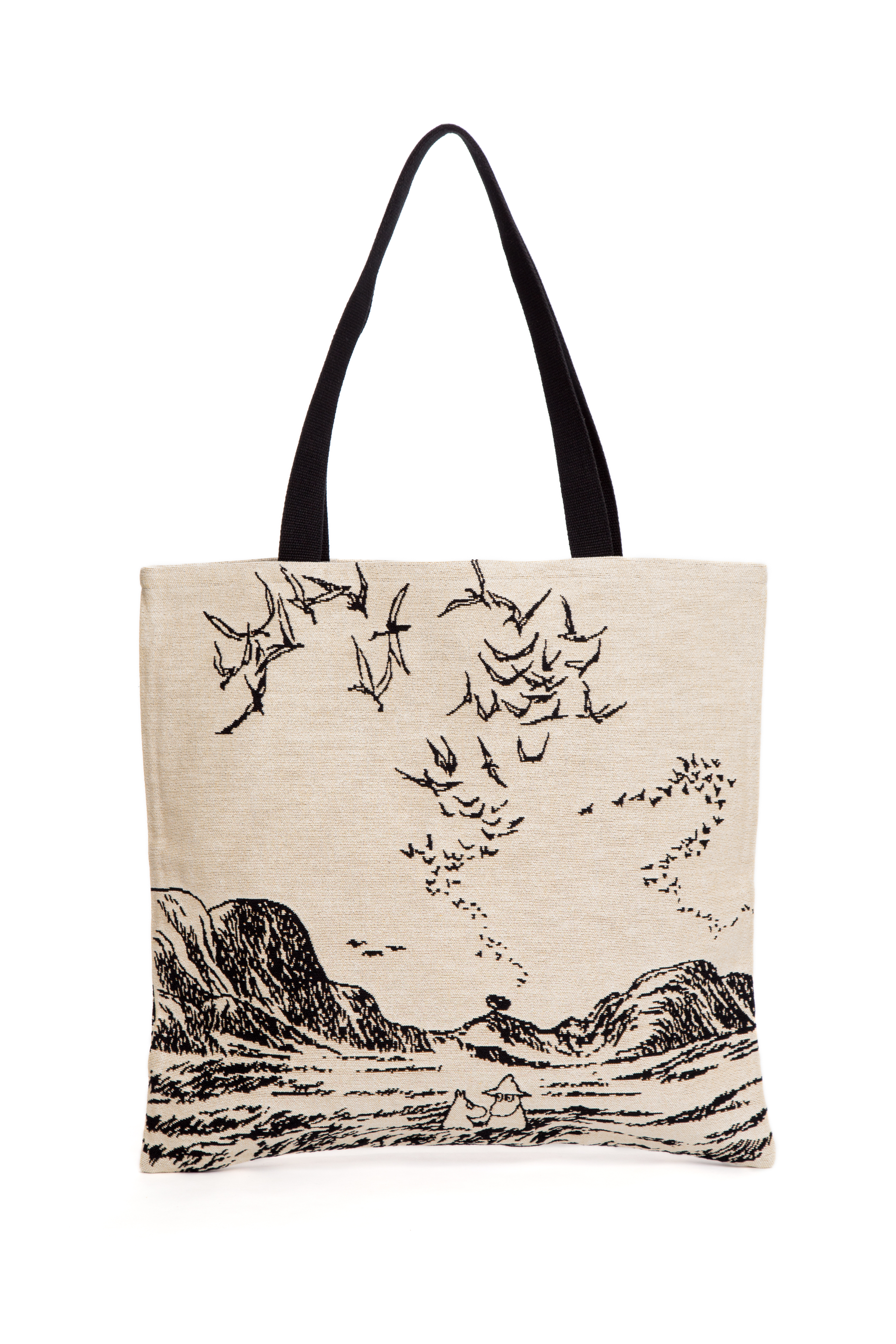 Aurora Decorari Moomin Gobelin Big Bag Moomins in Sea 015BB