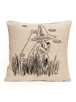 Aurora Decorari Moomin Gobelin Cushion Cover Backs 016CH