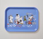 OPTO Tray 27x20 Moomin Birthday Blue