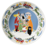 by Arabia Moomin serving bowl Friendship