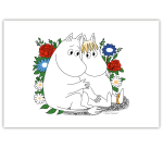 OPTO Table Mat 40x30 Snorkmaiden Flower