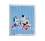 OPTO DISH CLOTH MOOMIN BIRTHDAY BLUE