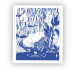 OPTO Tove Nordic Dish Cloth Sleeping Moomin