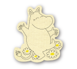 OPTO DISH CLOTH MOOMIN SHAPED