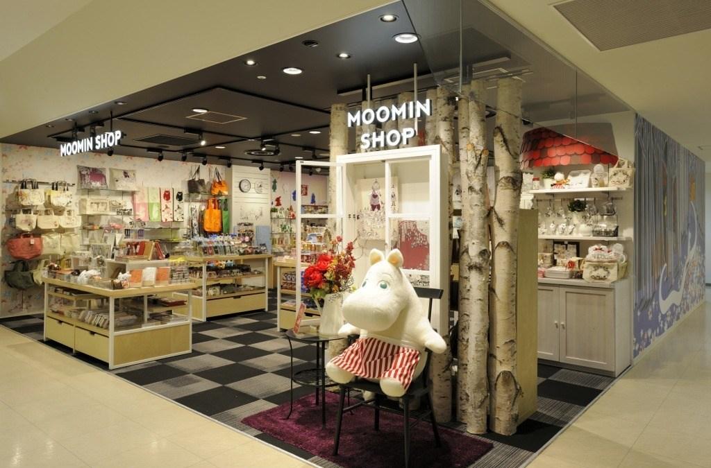 Moomin Shop LUMINE Tachikawa_1