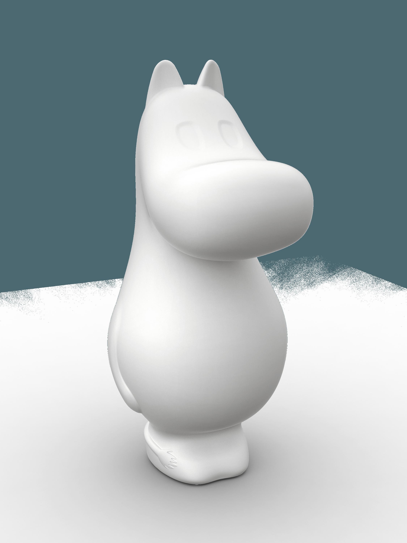 Moomin Lights by Melaja Moomintroll shaped lamps