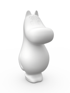 Moomin Lights by Melaja Snorkmaiden shaped lamps