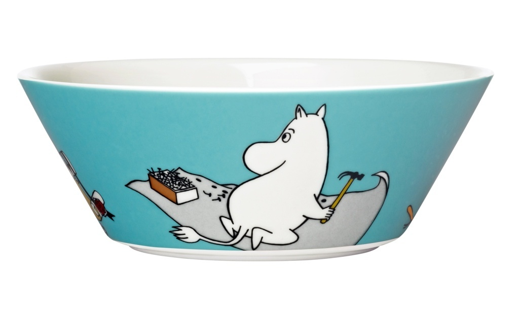 Moomin_bowl15cm_Moomintroll_turquoise