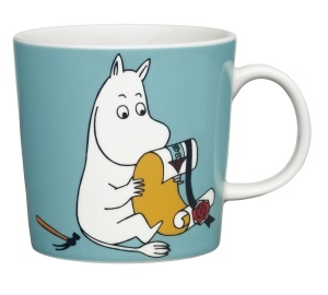 by Arabia Moomin mug Moomintroll