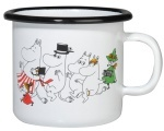 Muurla enamel mug 2,5dl Colors Moominvalley