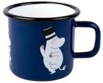 Muurla enamel mug 3,7dl Retro Moominpappa