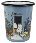 Muurla enamel tumbler 4dl Moomins on the Riviera The Moominhouse