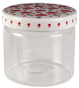 Muurla glass jar 11cm Little My