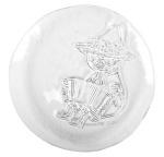Muurla glass plate 19cm Snufkin