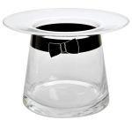 Muurla glass vase 16cm Moominpappa's hat
