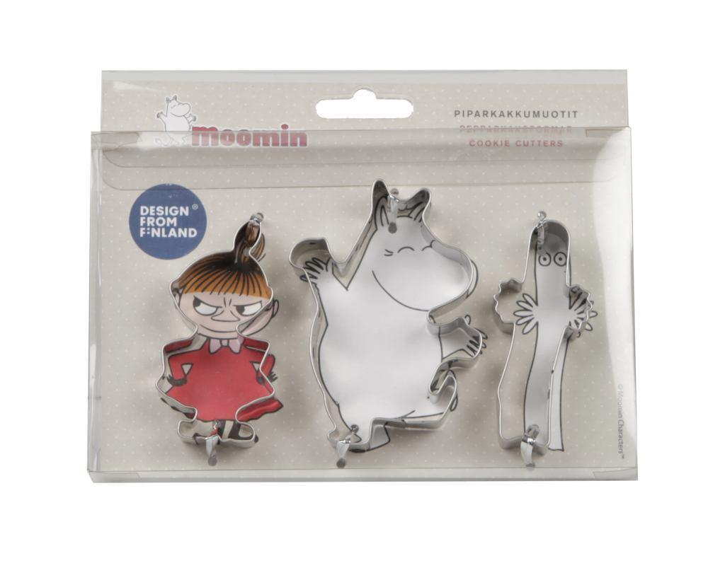 martinex moomin cookie cutter set one