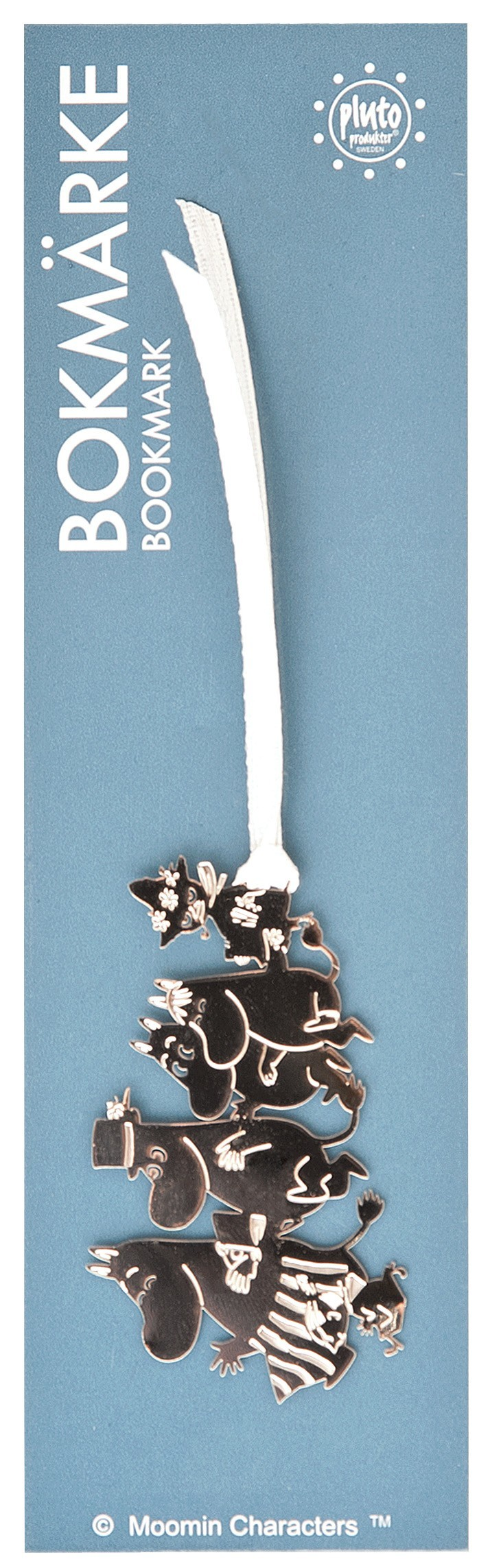 Pluto Bookmark Moomin Family