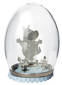 Pluto Glass Egg Moomin