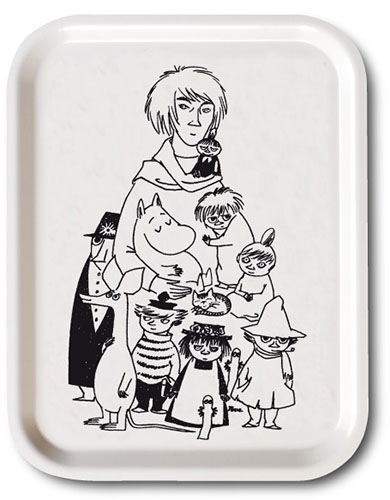 OPTO Tray 27x20 Tove & Her Characters