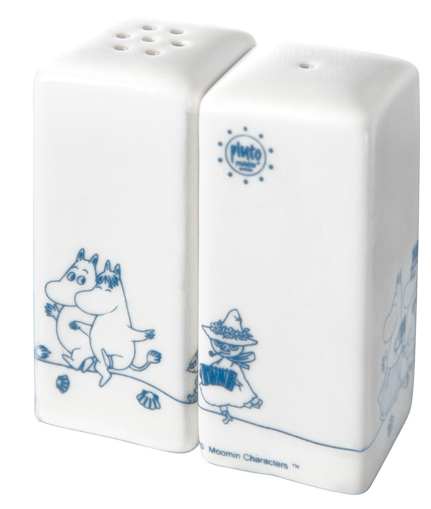 Pluto Salt & Pepper Shakers Moomin Family