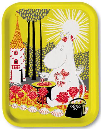 OPTO Tray 27x20 Moomin Sunshine