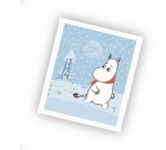 OPTO Dish Cloth Moomin Snow