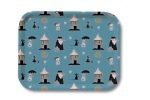 OPTO Tray 27x20 Pattern Blue