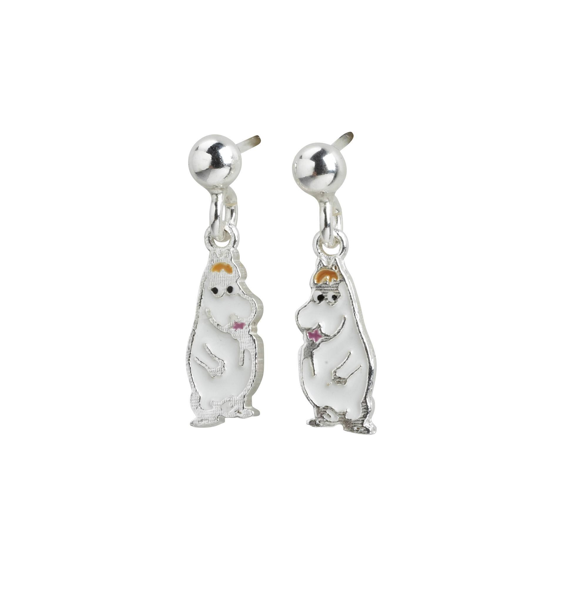 Nordahl Earrings Snorkmaiden silver with enamel