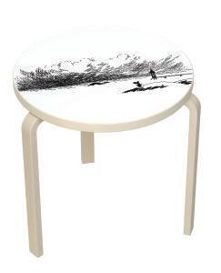 Artek table 90 B Moomin