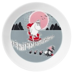 by Arabia Moomin plate Adventure Move