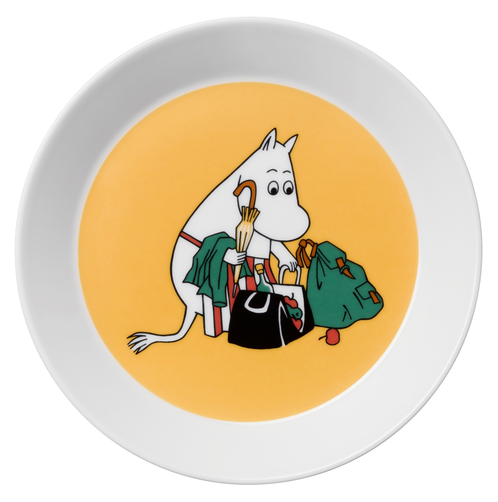 by Arabia Moomin plate Moominmamma