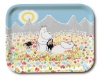 OPTO Tray 27x20 Moomin on the meadow