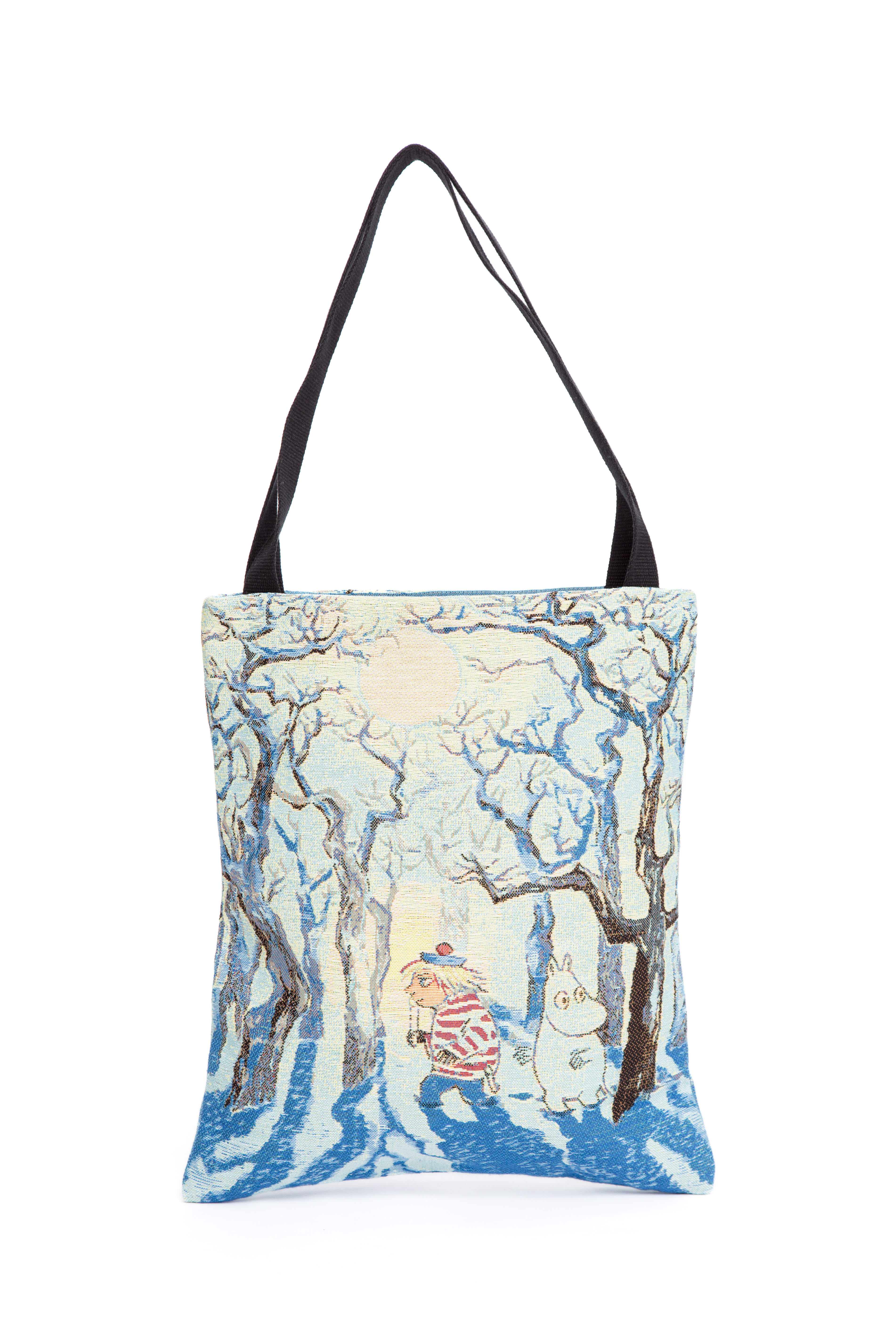 Aurora Decorari Moomin Gobelin Shopping Bag Moomin Trollvinter 205BSM