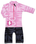 Swimpy by Tilda's Moomin pink UV suit