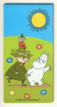 Karto Magnetic Bookmark Moomointroll, Snufkin and Little My
