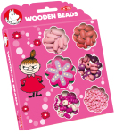 Tactic Moomin wooden beads pink