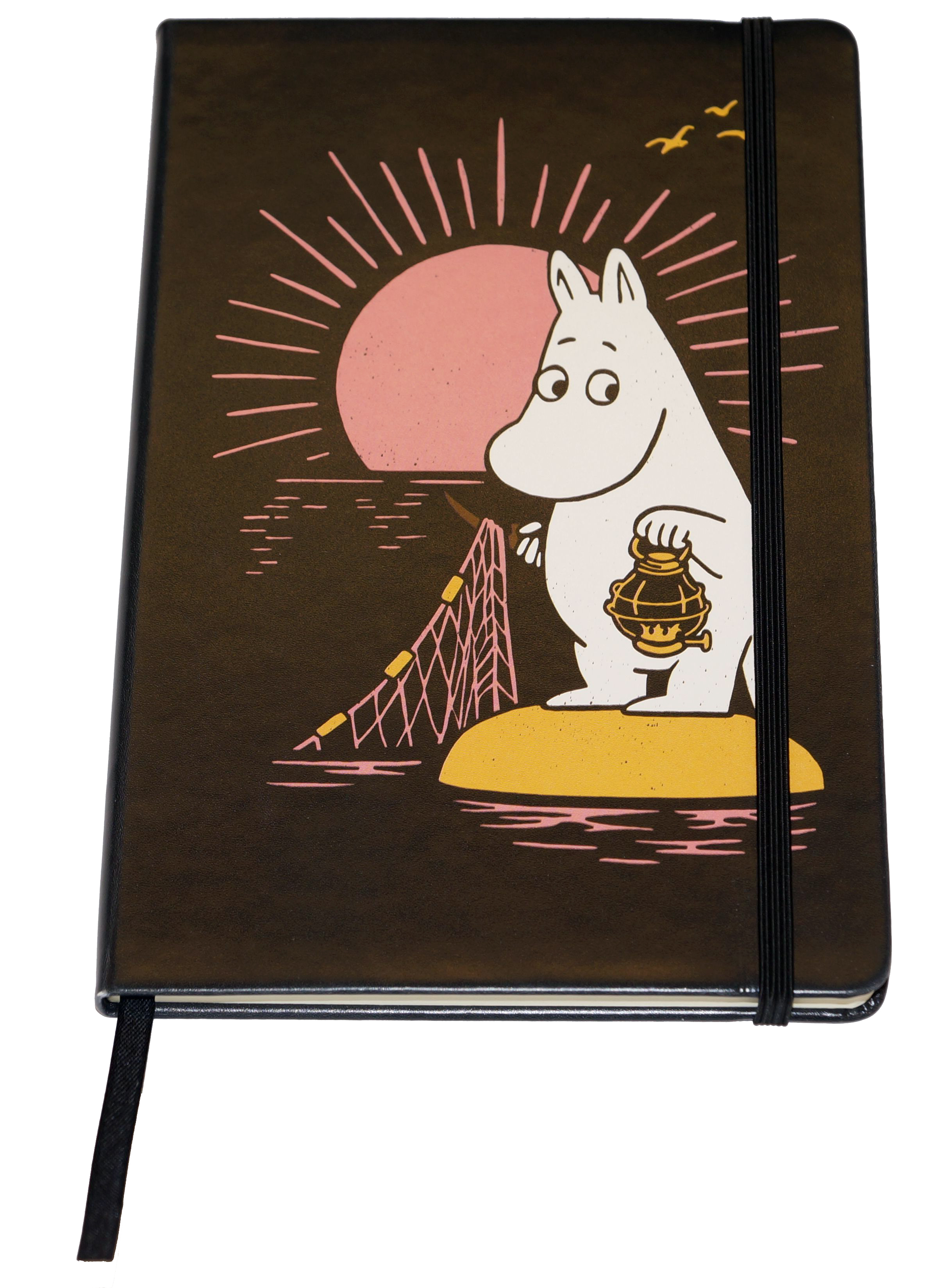 Anglo-Nordic Moomin Notebook w/elastic band A5
