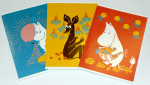 Anglo-Nordic Moomin School notebook A5 3-pack