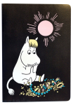 Anglo-Nordic Moomin Wax cover notebook A5