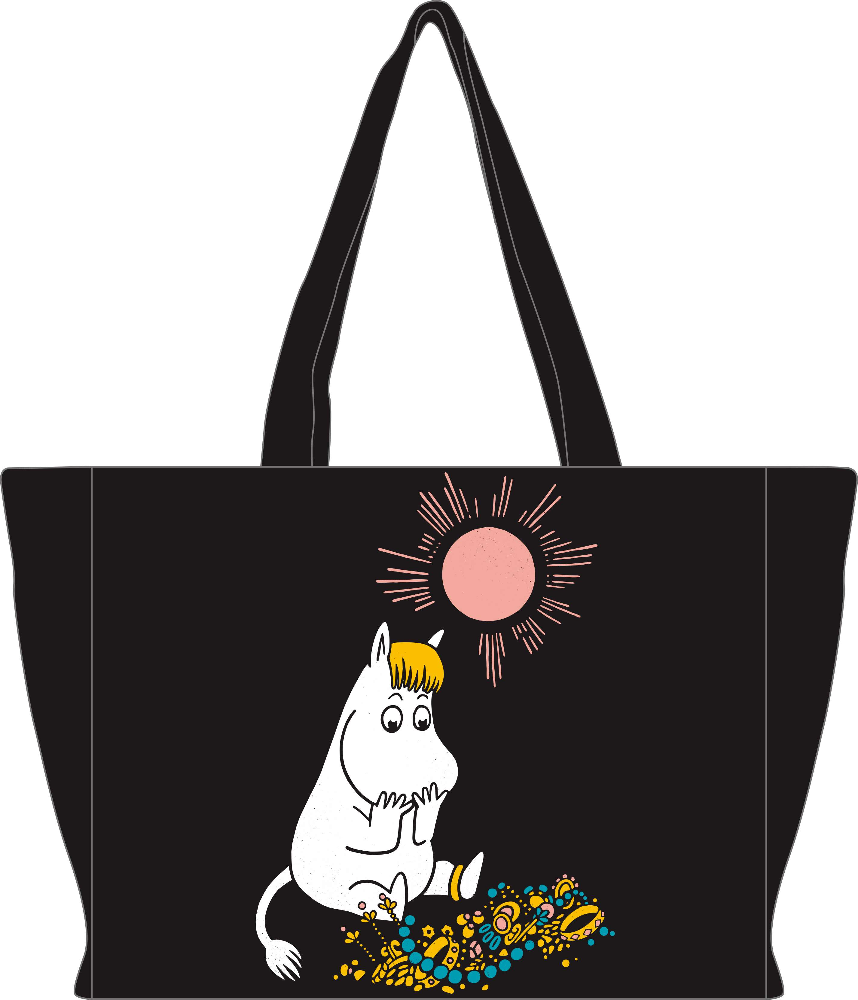 Anglo-Nordic Moomin Fabric shopping/beach bag 36x29x11
