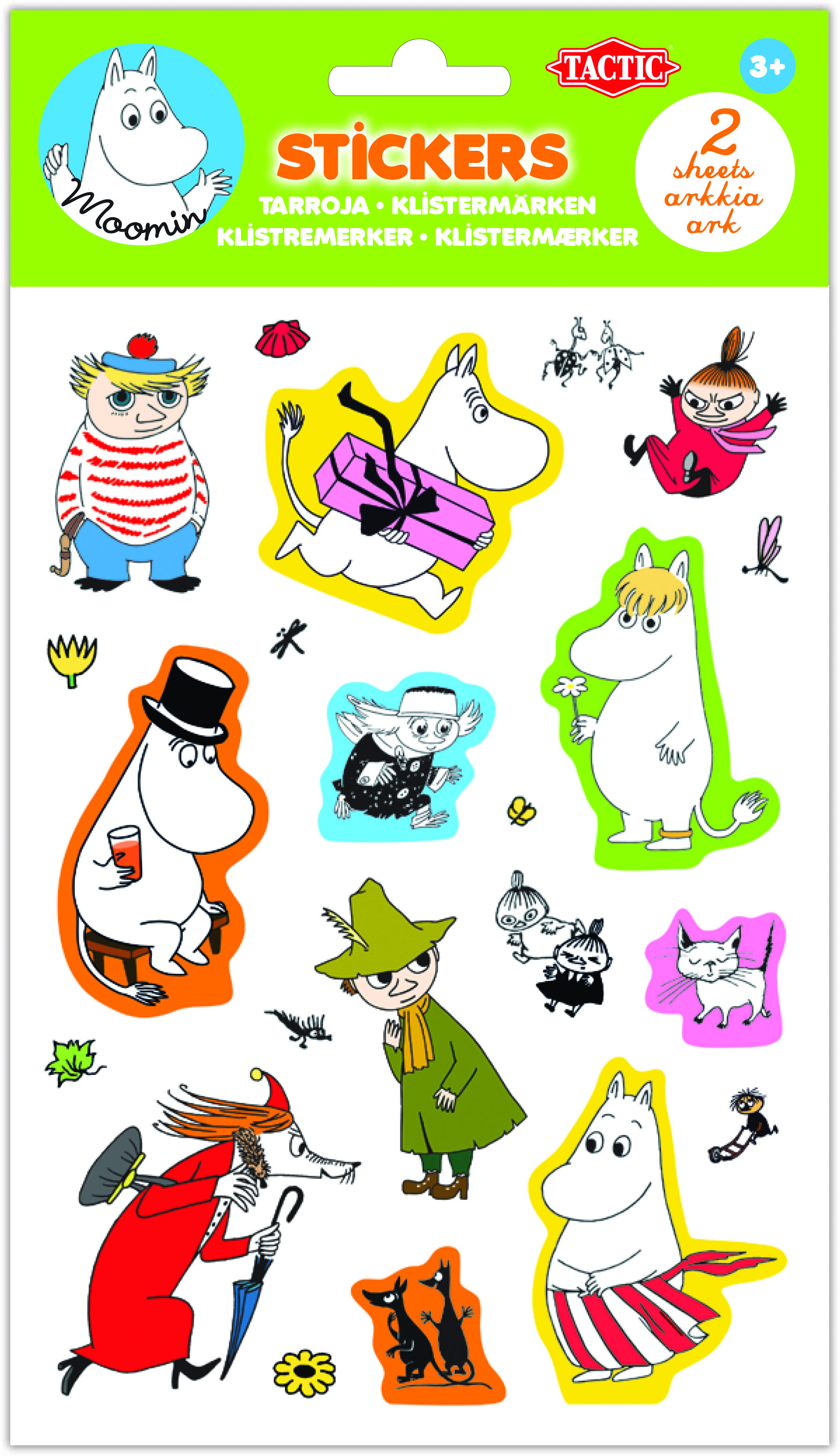Tactic Moomin Stickers