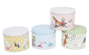 Martinex Moomin Round Tin Joy