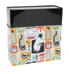 Martinex Moomin Patches Coffee Filter Storage Tin
